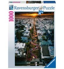 Ravensburger - Puzzle 1000 - San Francisco Lombard Street (10216732)