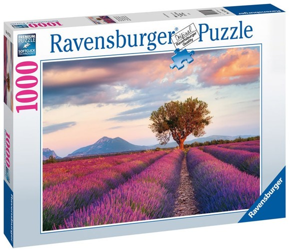 Ravensburger - Puzzle 1000 - Lavender Fields (10216724)