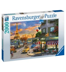Ravensburger - Puzzle 2000 - Paris Sunset (10216716)