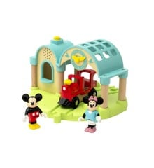 BRIO - Mickey Mouse station med lydoptager (32270)