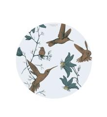 Everleigh & Me - Splat Mat stoleunderlag, Hummingbird Blue