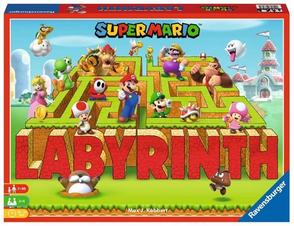 Ravensburger - Super Mario Labyrinth (10826893) (Nordic)