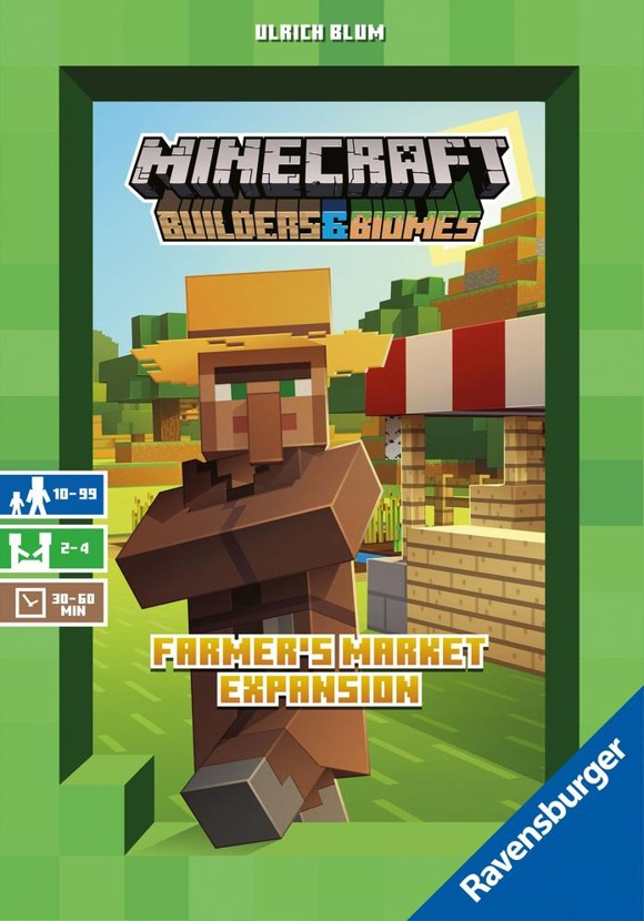 Ravensburger - Minecraft Builder & Biomes, Farmer's market Expansionpack (10826991)