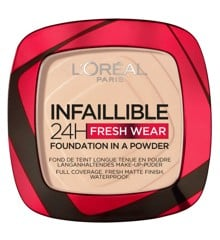 L'Oréal - Infaillible 24h Fresh Wear Powder Foundation - 20 Ivory