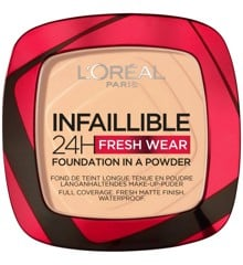 L'Oréal - Infaillible 24h Fresh Wear Powder Foundation - 40 Cashmere