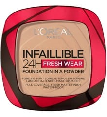 L'Oréal - Infaillible 24h Fresh Wear Powder Foundation - 120 Vanilla