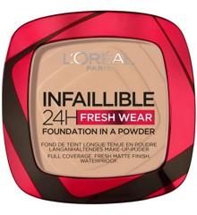 L'Oréal - Infaillible 24h Fresh Wear Powder Foundation - 130 True Beige