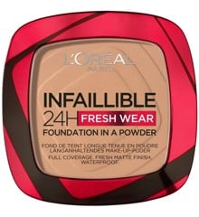 L'Oréal - Infaillible 24h Fresh Wear Powder Foundation - 220 Sand