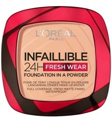 L'Oréal - Infaillible 24h Fresh Wear Powder Foundation - 245 Golden Honey