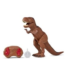 Remote Controlled Dinosaur with light, Sound and Steam Small