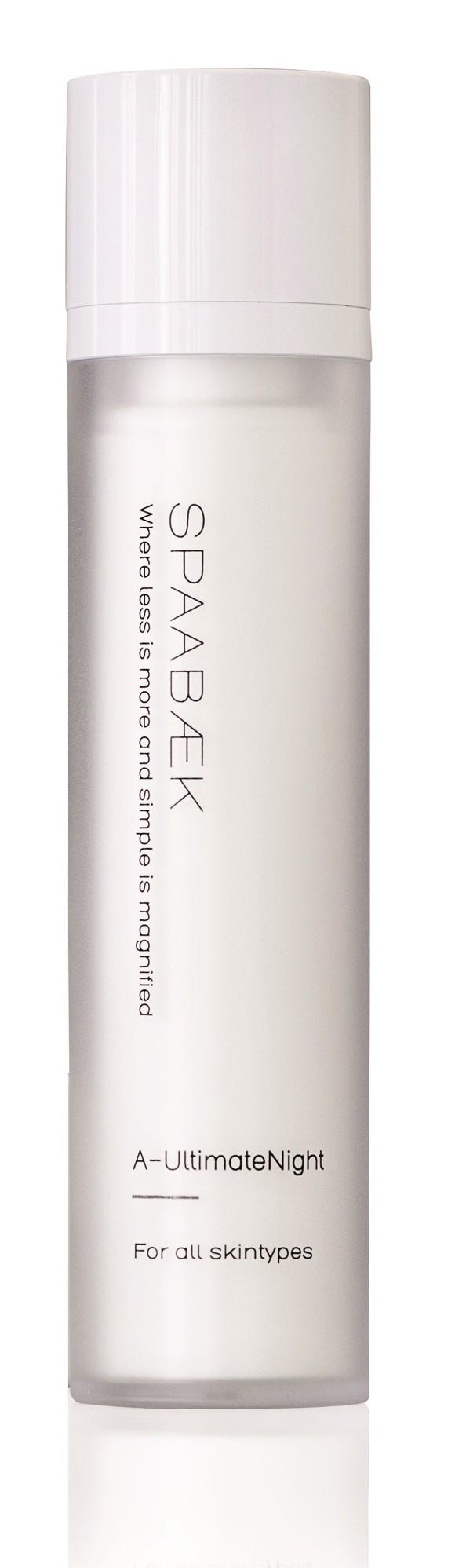 Spaabæk - A-UltimativeNight Cream 50 ml