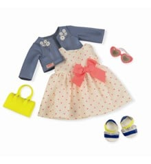 Our Generation - Deluxe outfit - Heartprint dress (730246)