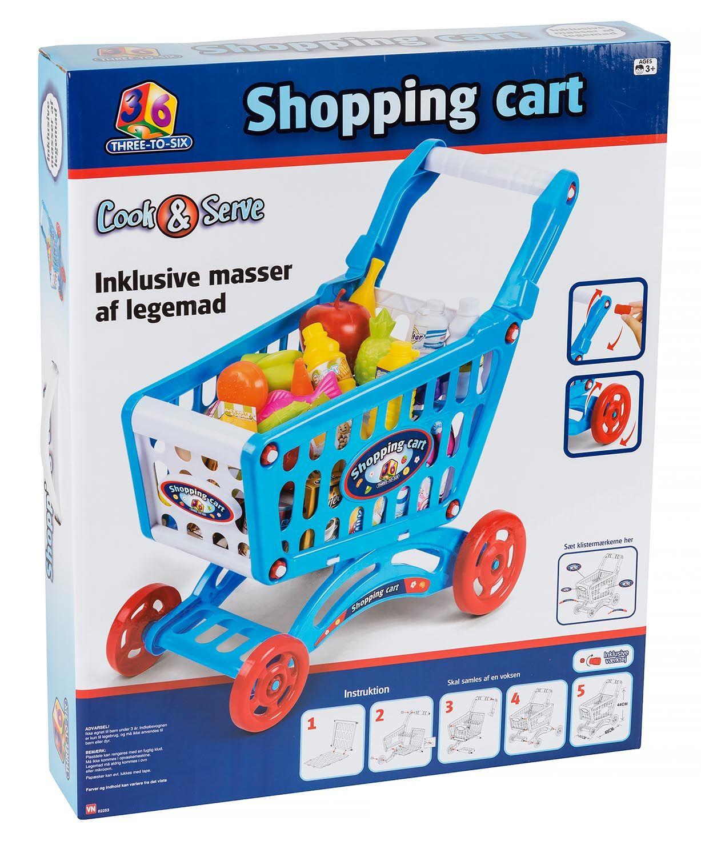 Bilde av 3-2-6 - shopping Cart With Playfood (62253)