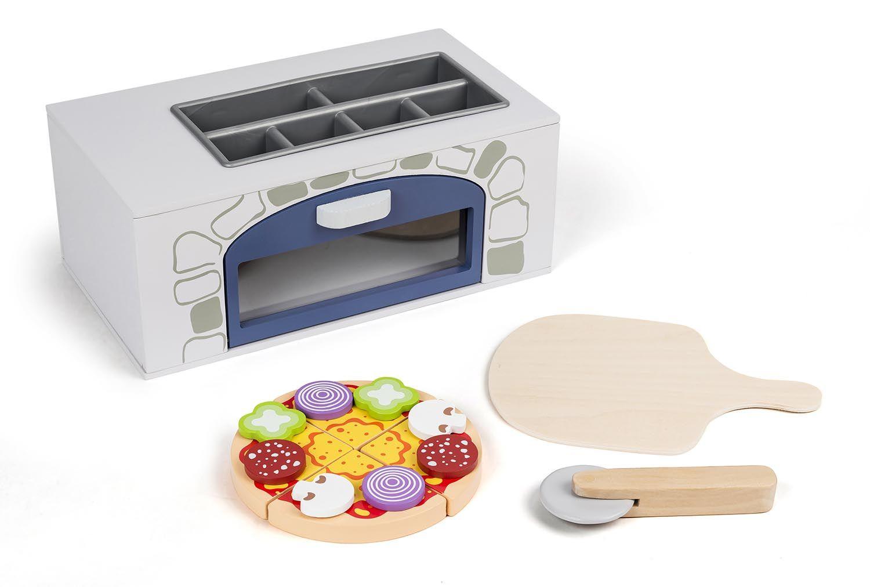 Bilde av 3-2-6 - wooden Pizza Oven With Accessories (68228)