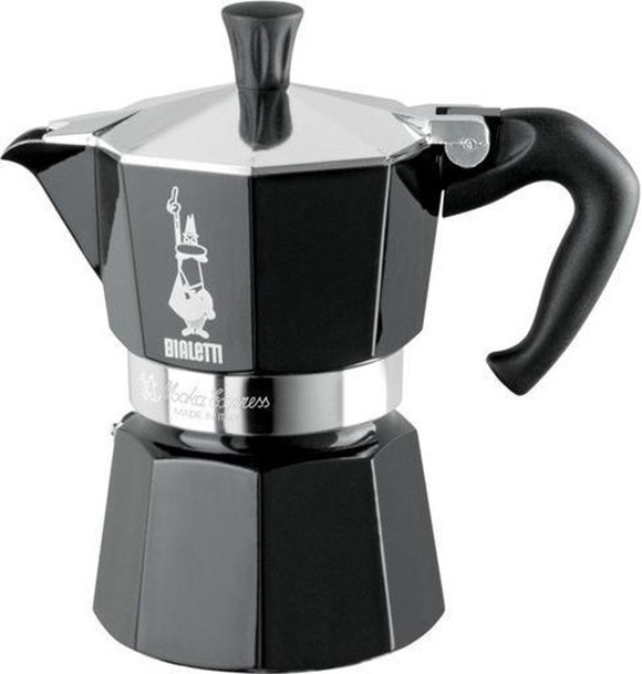 Bialetti - Moka Express - 6 Cups - Black (4953)