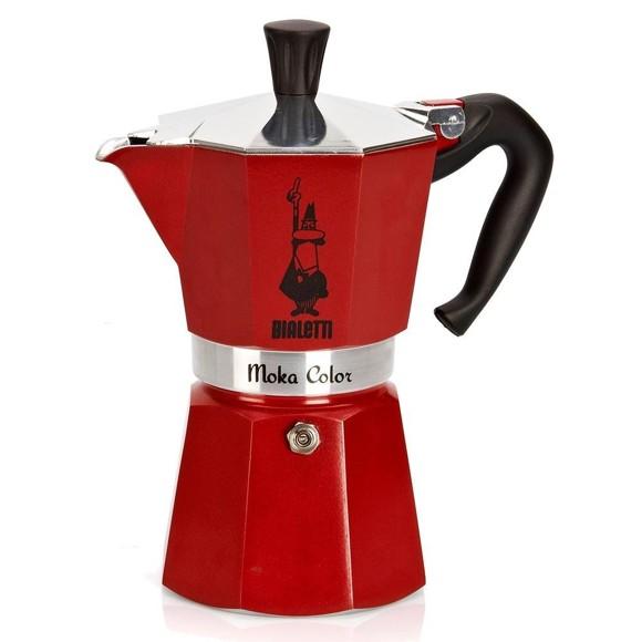 Bialetti - Moka Express - 3 Cups - Red (4942)