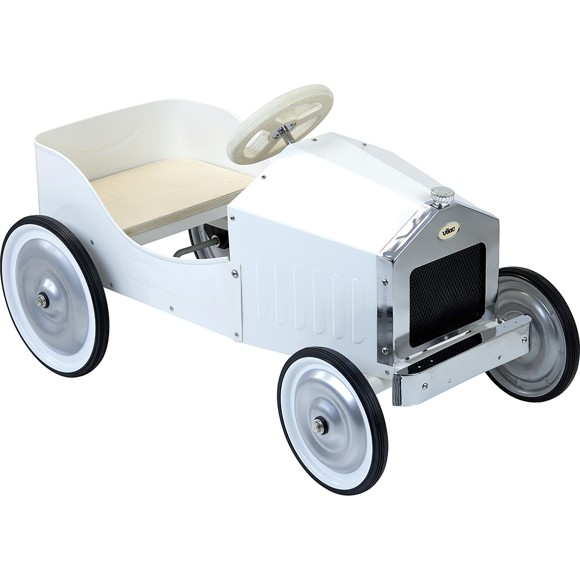 Vilac - Large pedal car, Ivory (1150W)