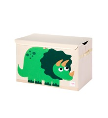 3 Sprouts - Opbevaringskurv - Green Dino