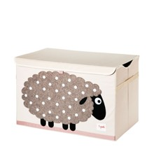 3 Sprouts - Toy Chest - Beige Sheep