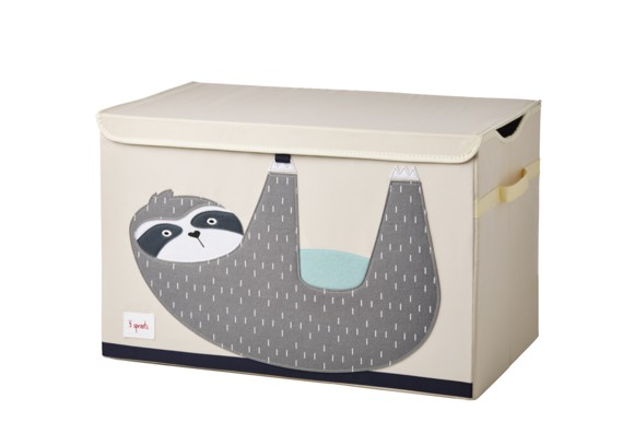 3 Sprouts - Toy Chest - Gray Sloth