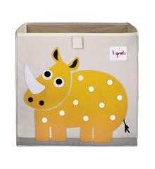 3 Sprouts - Storage Box - Yellow Rhino