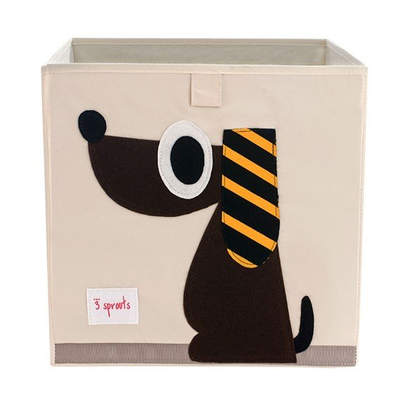 3 Sprouts - Storage Box - Brown Dog