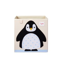 3 Sprouts - Storage Box - Black Penguin
