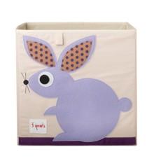 3 Sprouts - Storage Box - Purple Rabbit