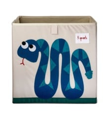 3 Sprouts - Storage Box - Blue Snake