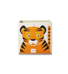 3 Sprouts - Storage Box - Orange Tiger