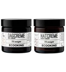 Ecooking - Dagcreme & Natcreme 2x50 ml