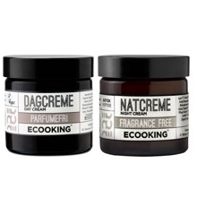 Ecooking - Parfumefri Dag & Natcreme 2x50 ml