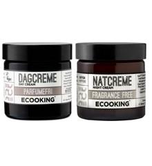 Ecooking - Parfumefri Dag & Natcreme