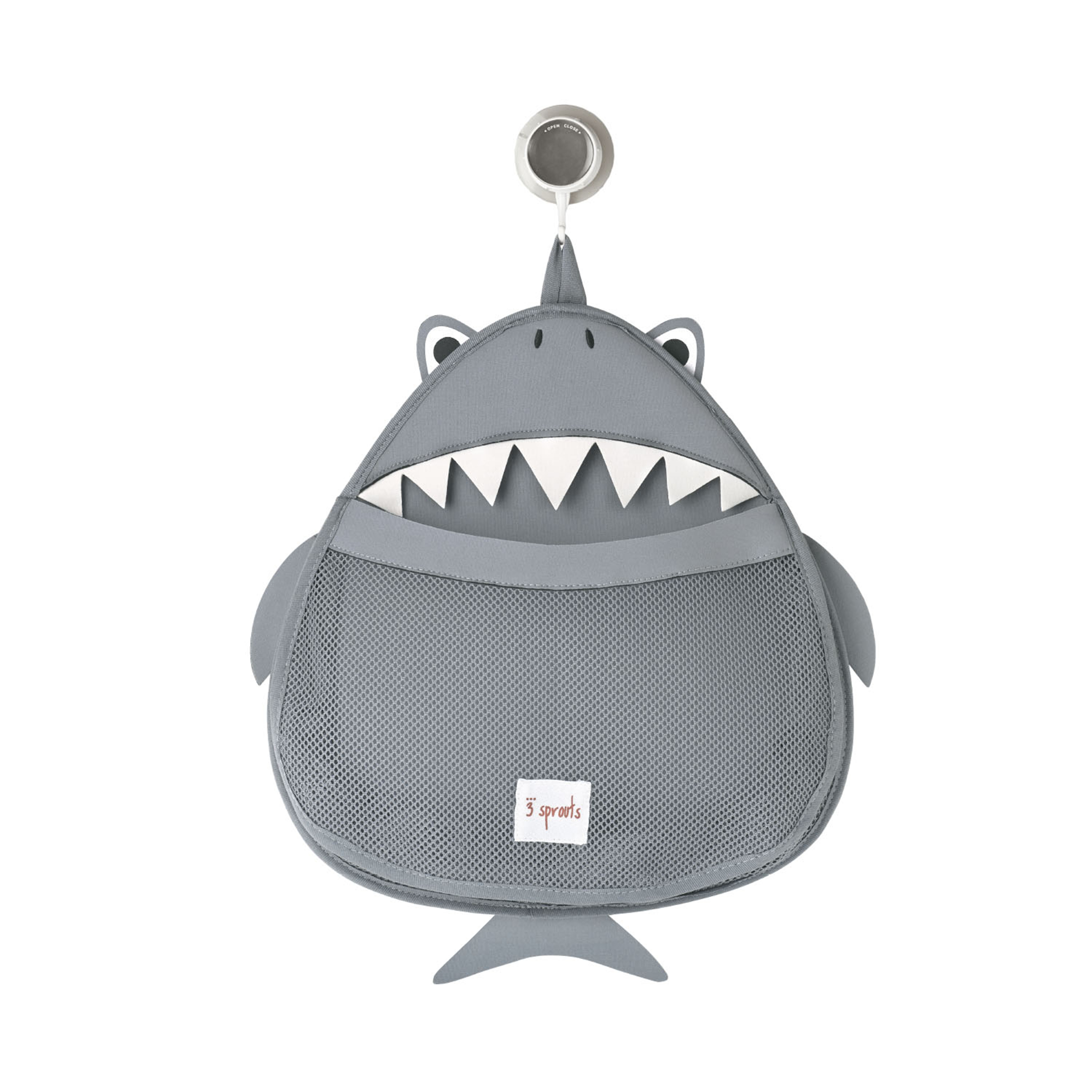 Bilde av 3 Sprouts - Bath Storage - Gray Shark