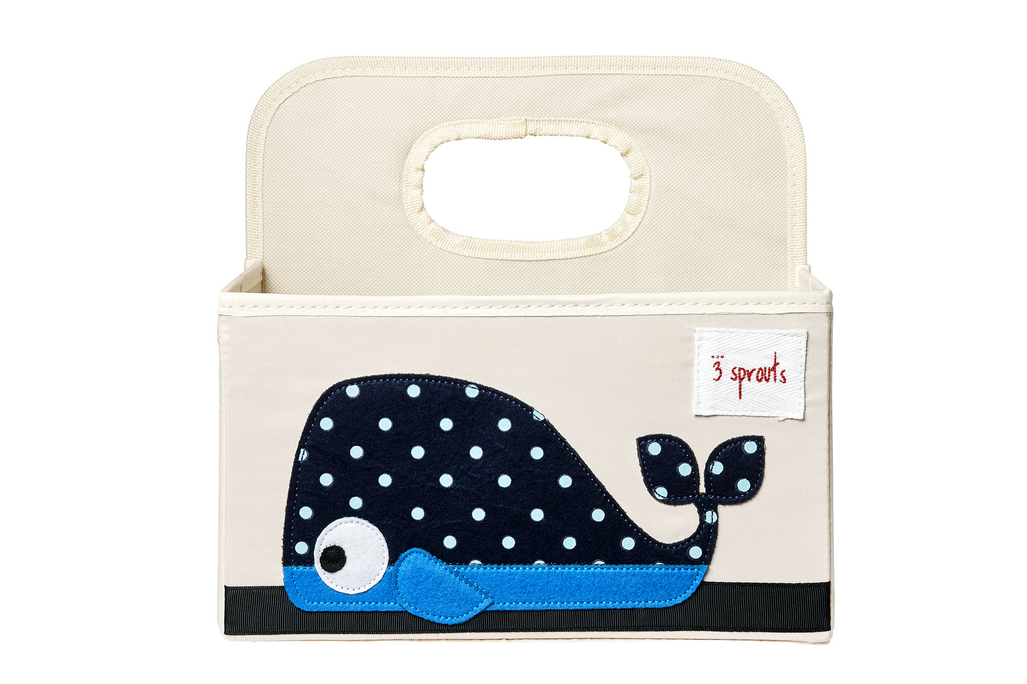 Bilde av 3 Sprouts - Diaper Caddy - Blue Whale