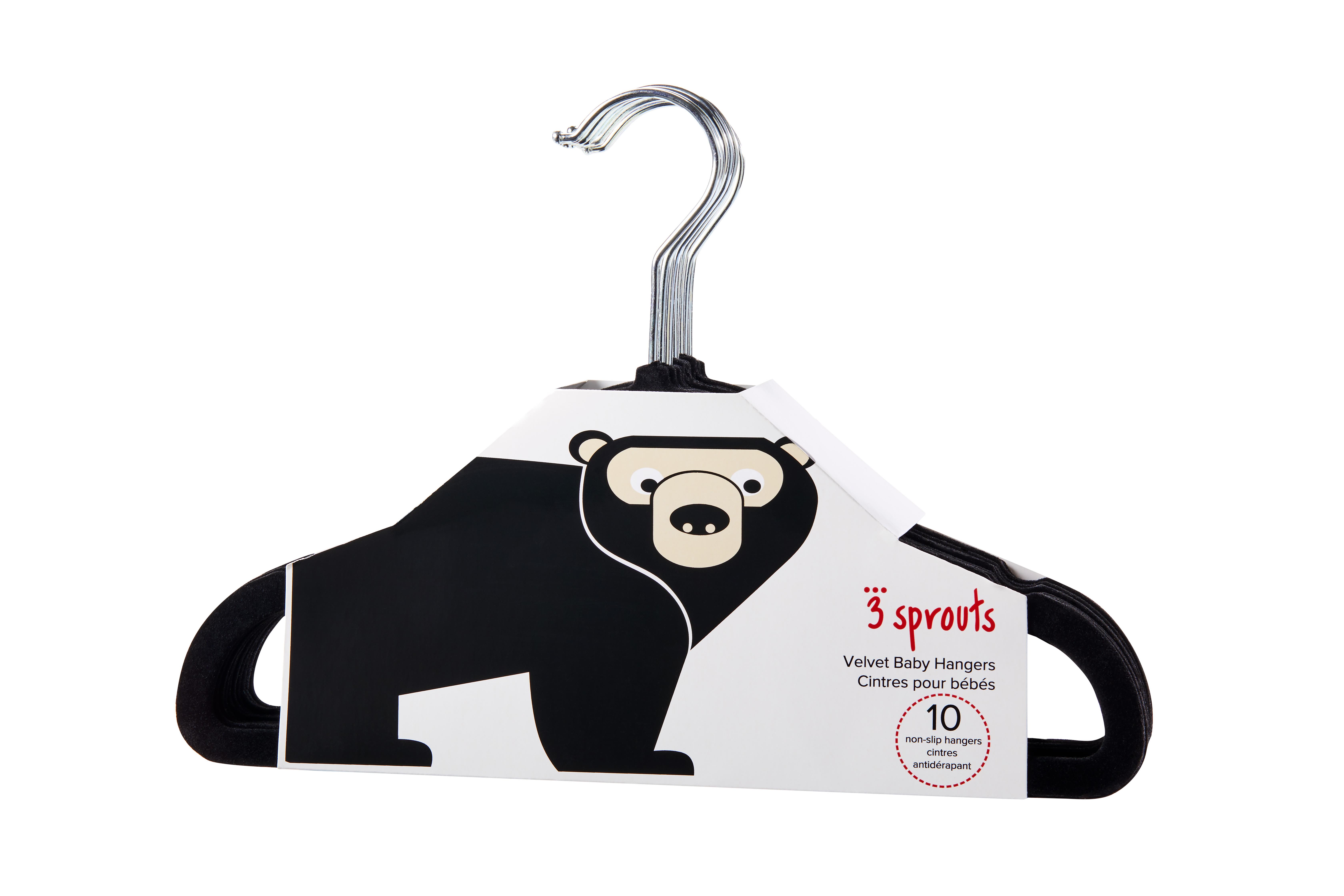 Bilde av 3 Sprouts - Hangers - Black Bear
