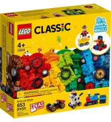 LEGO Classic - Klodser og hjul (11014)