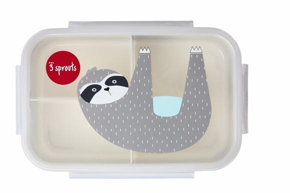 3 Sprouts - Bento Box - Gray Sloth