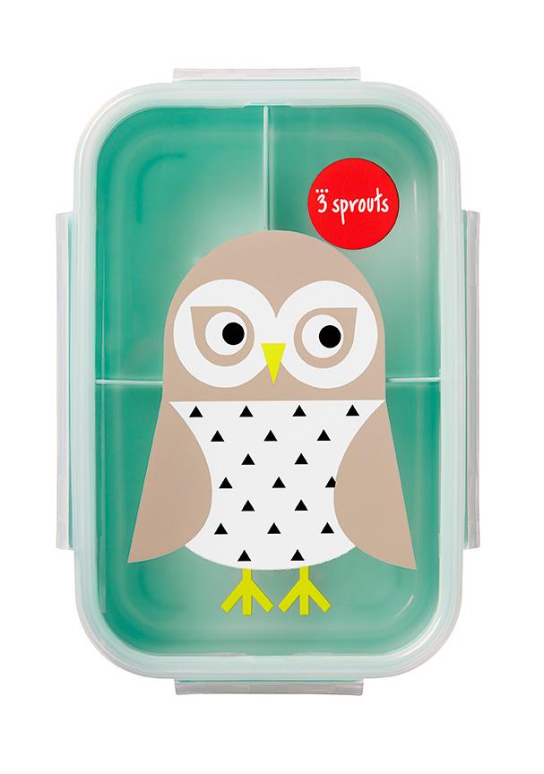 Bilde av 3 Sprouts - Bento Box - Mint Owl