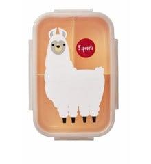 3 Sprouts - Bento Box - Peach Llama