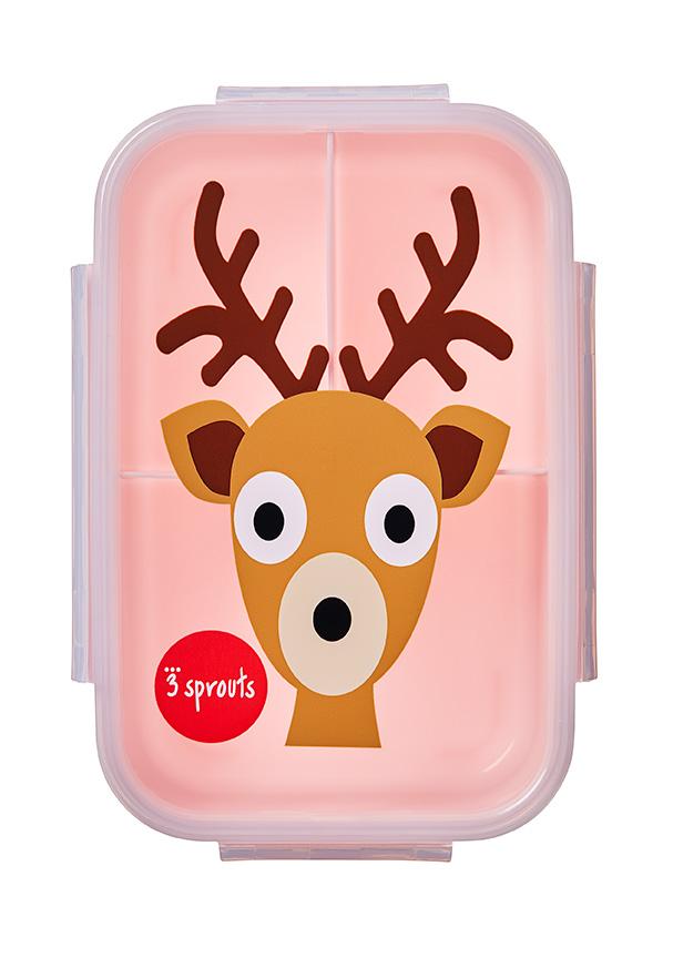 Bilde av 3 Sprouts - Bento Box - Pink Deer