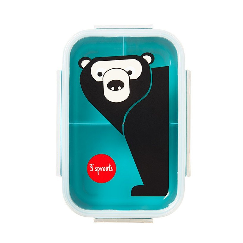 Bilde av 3 Sprouts - Bento Box - Teal Bear