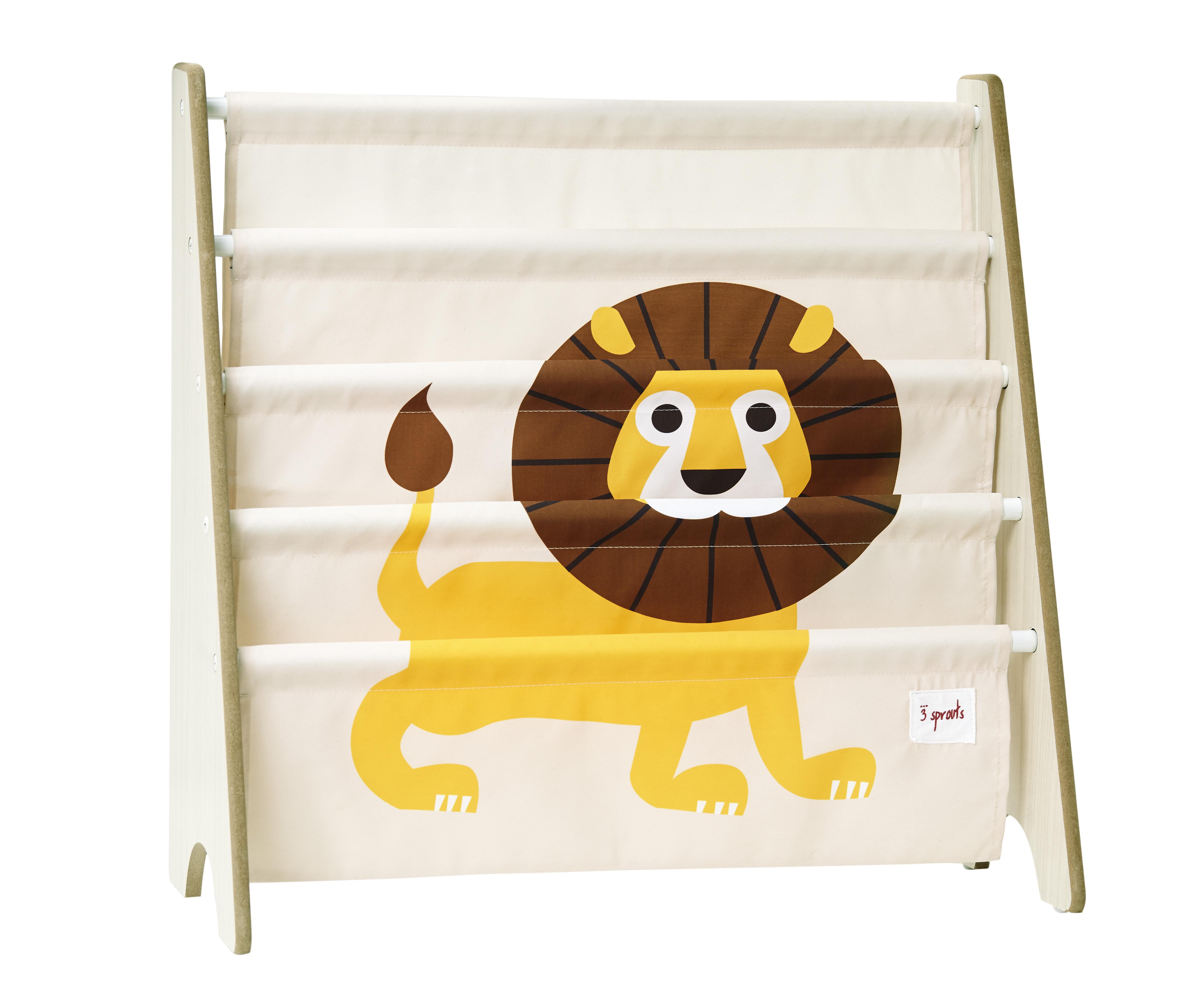 Bilde av 3 Sprouts - Book Rack - Yellow Lion