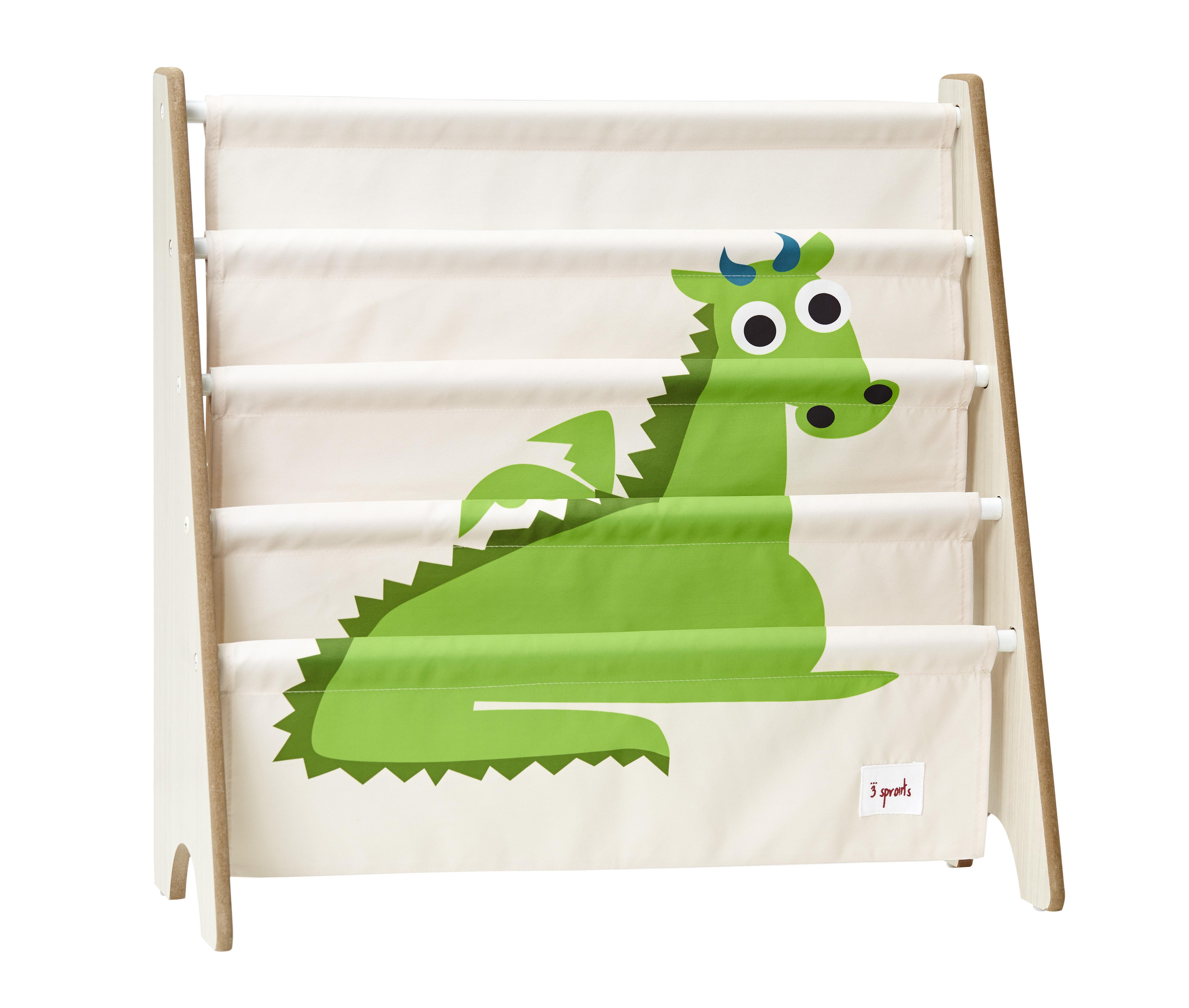 Bilde av 3 Sprouts - Book Rack - Green Dragon