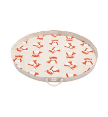 3 Sprouts - Play Mat Bag - Orange Fox