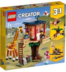 LEGO Creator - Safari Wildlife Tree House (31116)