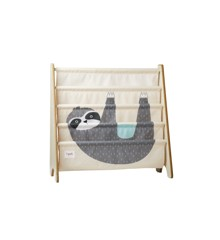 3 Sprouts - Book Rack - Gray Sloth