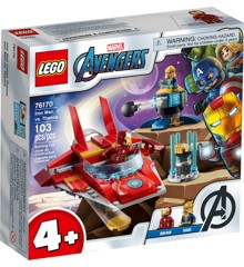 LEGO Super Heroes - Iron Man vs. Thanos (76170)