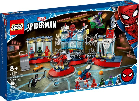 LEGO Super Heroes - Attack on the Spider Lair (76175)