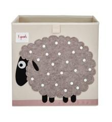3 Sprouts - Storage Box - Beige Sheep